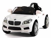 Эл-мобиль T-764 WHITE легковая на р.у. 6V4.5AH с MP3 105*60*50
