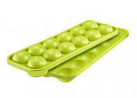 Форма силиконовая для кондитерских изделий на палочке зеленая WESTMARK W3024226G