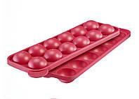 Форма силиконовая для кондитерских изделий на палочке красная WESTMARK W30242260