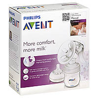 Молокоотсос ручной Avent Comfort с массажной насадкой (Philips)