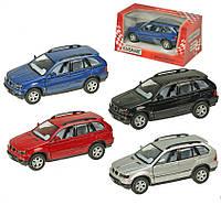 Машина металлическая Kinsmart BMW X5 в коробке16х8х7 см KT5020W