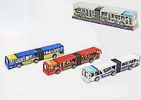 Автобус инерционный 367 3 вида, под слюдой 33, 5*6*8см