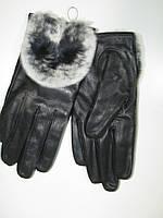 Перчатки женские кожаные, арт. QL-B 36