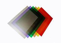 Обложки для переплета пластиковые, A4, 180 мкм, прозрачные, коричневые, 100 шт