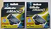 Картриджи Gillette Mach3  Оригинал  8 шт+2 шт в упаковке  производство Польша