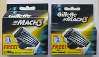 Картриджи Gillette Mach3  Оригинал  8 шт+2 шт в упаковке  производство Польша, фото 1