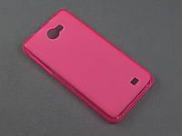 Чехол TPU для Fly iQ456 Era Life 2 розовый