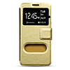Чехол книжка Book Cover Lenovo A2010 Gold