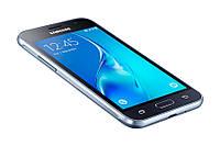 Смартфон Samsung Galaxy J1 J120H/DS Black, 2 MicroSim, сенсорный емкостный 4.5' (800х480) Super AMOLED, Cortex-A7 Quad Core 1.3 GHz, RAM 1Gb, ROM 8Gb,