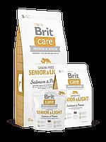 Brit Care (Брит Кеа) Grain-free Senior and Light (3 кг) Беззерновой корм для пожилых собак всех пород