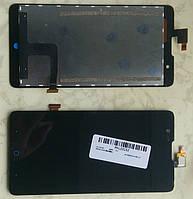 ZTE Red Bull v5 v9180 дисплей в зборі з тачскріном модуль чорний