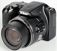 Фотоаппарат Nikon Coolpix L820 Black / 16 Mp / LCD 3' / Zoom 4x / Full HD видео / SD, SDHC, SDXC / Li-Ion / 12 мес