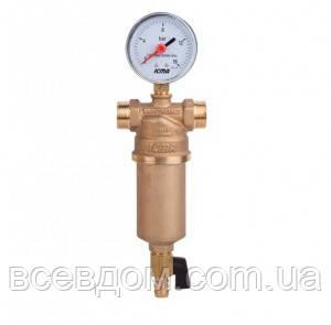 """Самопромывной фильтр для воды ICMA 3/4"""" РВ х 1"""" РН"""