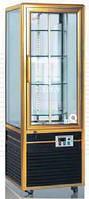 Панорамная холодильная витрина цвет серебристый GGG PSS-418