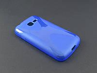 Чехол NewLine для Samsung Galaxy Star Plus S7262 синий
