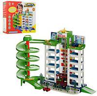 Детский гараж с машинками 922-10