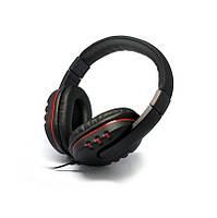 Наушники HQ-Tech SY-870 Black, 2 x Mini jack (3.5 мм), накладные, регулятор громкости, микрофон, кабель 2 м