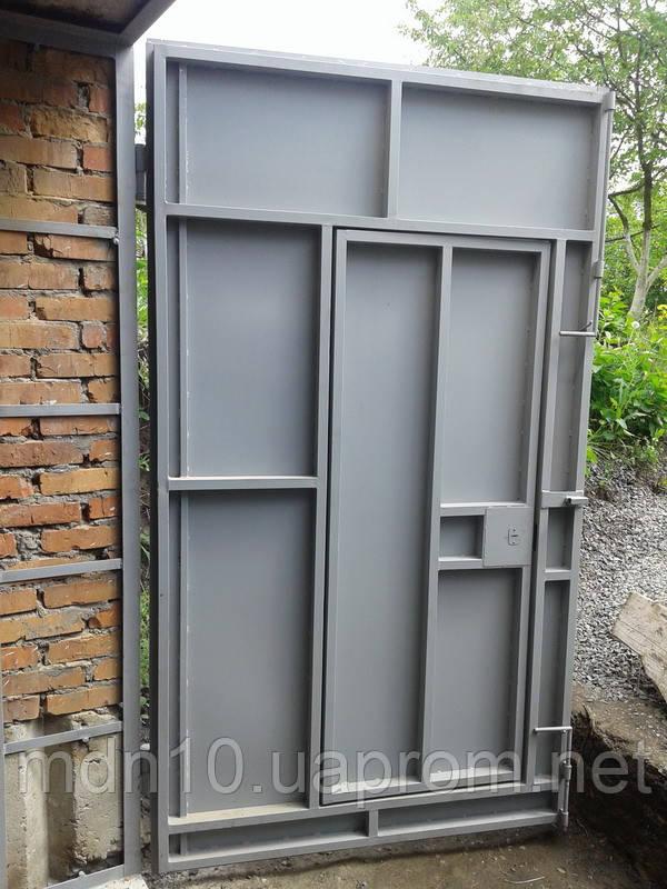 Металлические ворота гаража купить гараж жби в комсомольске