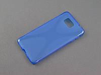 Чехол NewLine для Samsung G850 Galaxy Alpha синий