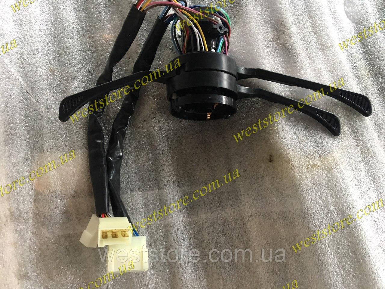 Тубус (переключатель в сборе) Ваз 2103 2106 Заз 1102 (стандартная панель) (3 положения переключателя света )