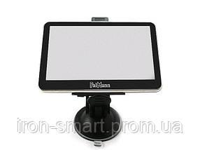 GPS Навигатор 5' Palmann 50C, 480x272, MediaTek MT3328, 468 MHz, 128 Mb, 4Gb, Windows CE 5.0, MicroSD (до 32 Gb), Bluetooth, FM-приемник, аккумулятор