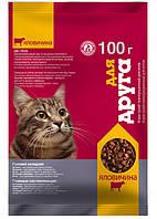 "Корм для котов ""Для друга"" (говядина) 100 г O.L.KAR"