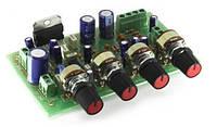 Радиоконструктор (набор компонентов) K162 (УНЧ TDA7377 стерео 2х15Вт с сабвуфером 30Вт)