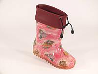 """Резиновые сапоги детские Verona """"Куколка на розовом"""", фото 1"""