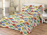 Детское покрывало-одеяло Машины 140х205