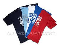 Футболки с логотипом компании - корпоративные бизнес сувениры и подарки