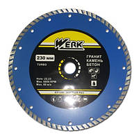 Алмазный диск Werk Turbo WE110114 230 x 7 x 22.225 мм (BP43576)