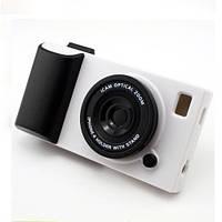 Чехол для iPhone 5/5S фотоаппарат 3D - белый