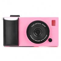 Чехлол для iPhone 5/5S фотоаппарат 3D - розовый