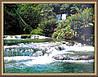 Картина Горная река 400х500мм №381 в багетной рамке