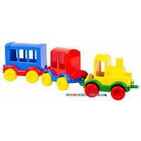 Набор машинок Паровозик Kid cars 3 шт Тигрес 39260
