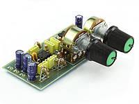 Радиоконструктор (набор компонентов) K127 (активный фильтр сабвуфера)