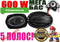 Автомобильные колонки, акустика, 5 ПОЛОС 600W 16''
