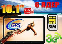 Крутой планшет-телефон OEM, 2 sim, 6 ядер, экран 10.1 GPS , фото 1