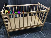 Кровать детская ольха классическая, фото 1