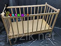 Кровать детская ольха классическая
