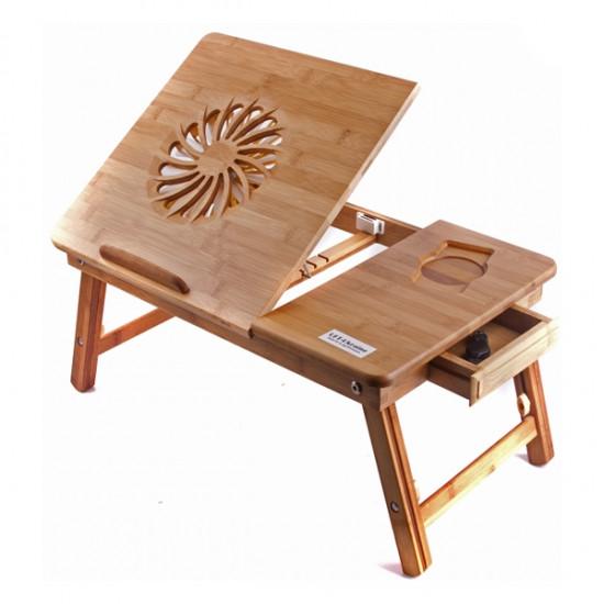 """Бамбуковый столик для ноутбука Каланз - Интернет-магазин сувениров и подарков,товаров для дома """"КОРОБ"""" в Никополе"""