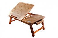 Бамбуковый столик для ноутбука Кейлі