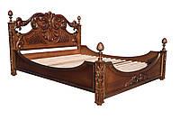 """Ліжко двоспальне різьблене """"Мрія"""""""