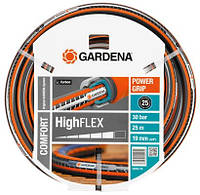 """Шланг Gardena Comfort Highflex 3/4"""" 25 м с профилем Power Grip без соединения (BP55276)"""