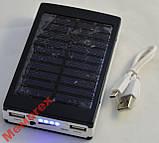 Power Bank солнечная батарея портативное зарядное, фото 2