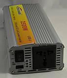 Розпродаж Перетворювач інвертор 12в-220в 2500W, фото 4
