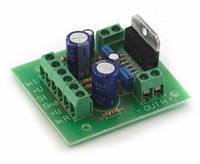 Радиоконструктор (набір компонентів) K161.1 (УНЧ TDA7377 стерео 2х30W) - Розпродаж