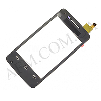 Сенсор (Touch screen) Alcatel 4007 One Touch Pop C1 черный