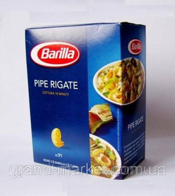 "Паста ""Barilla"" n.91 Pipe Rigate 500g"