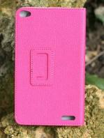 Кожаный чехол TTX с функцией подставки для Huawei MediaPad T1 7.0 (T1 S8-701u S8-701w) Малиновый